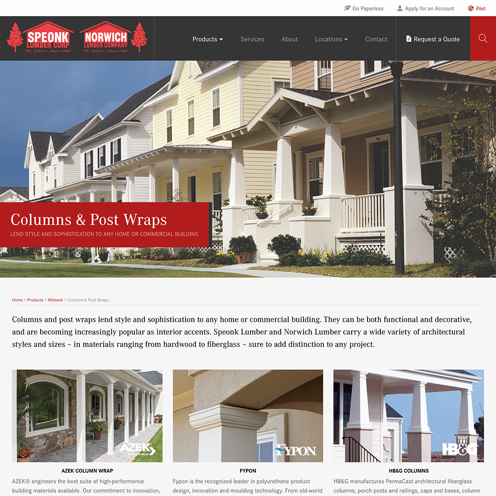 Speonk Lumber - Yellow House Design